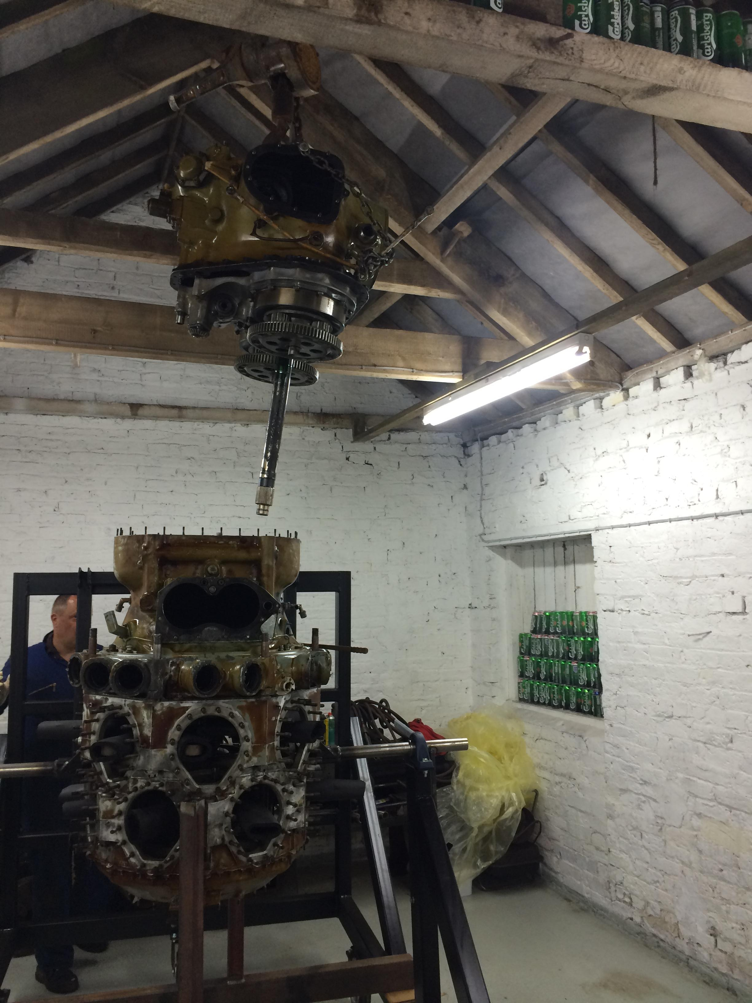 Cleaning and Re-fiting Super Charger and Gearbox | Bristol